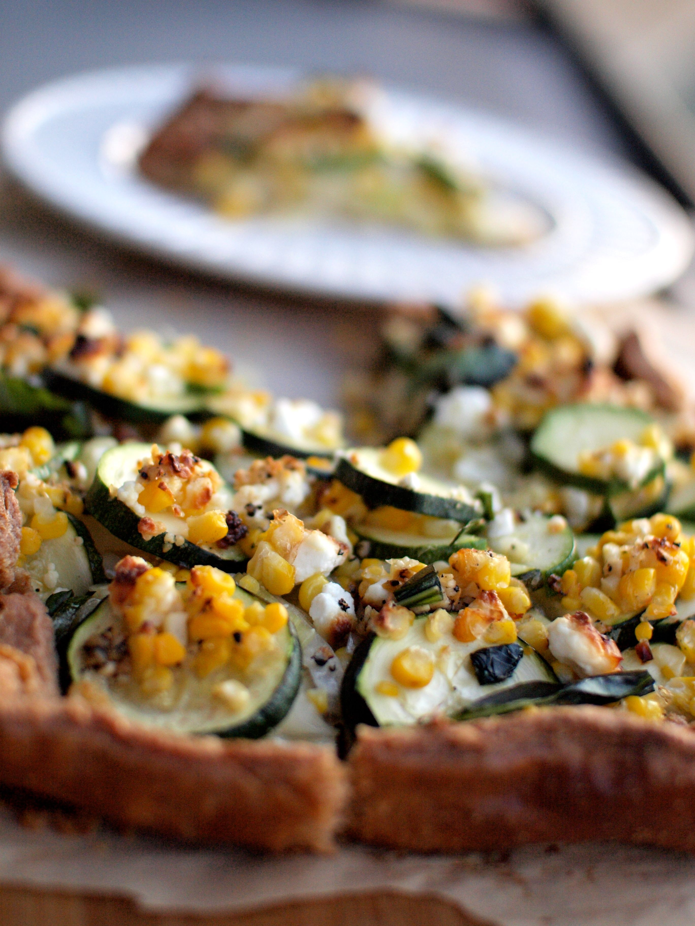 Zucchini and Corn Galette