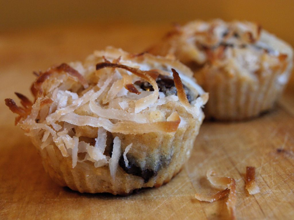 Coconut Macaroon Muffins