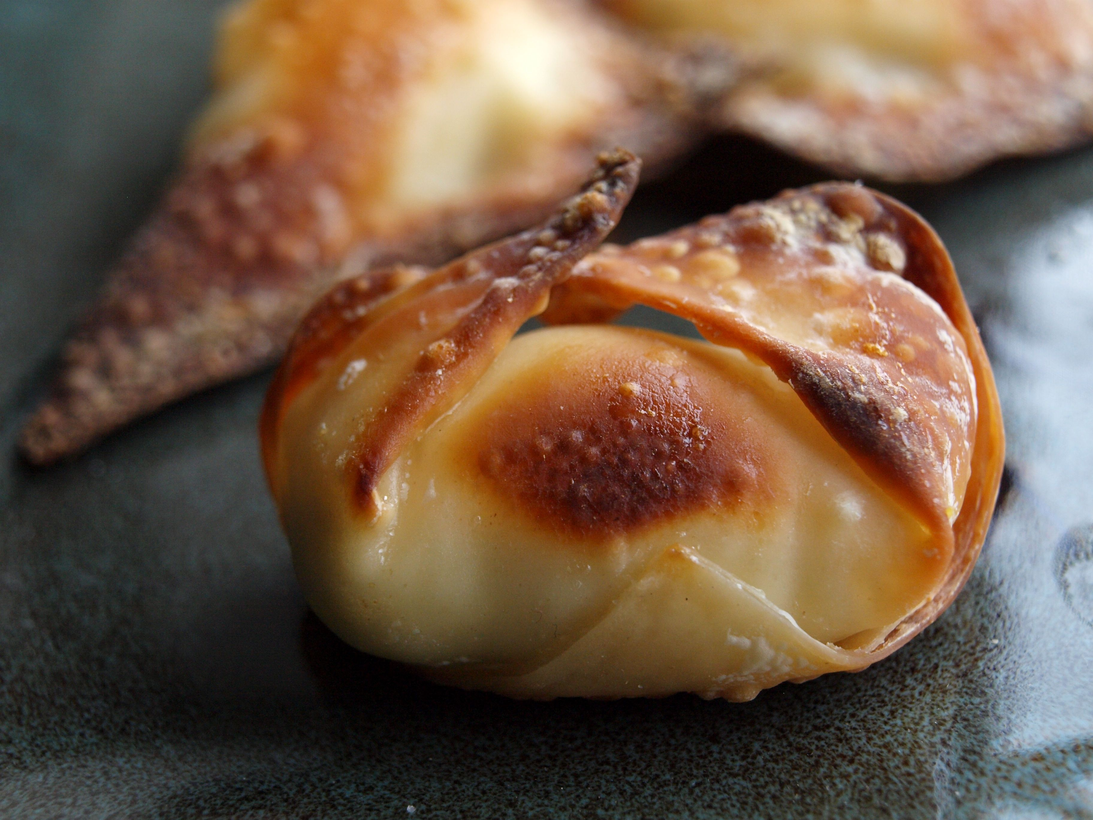 Baked Cream Cheese Jalapeno Wonton