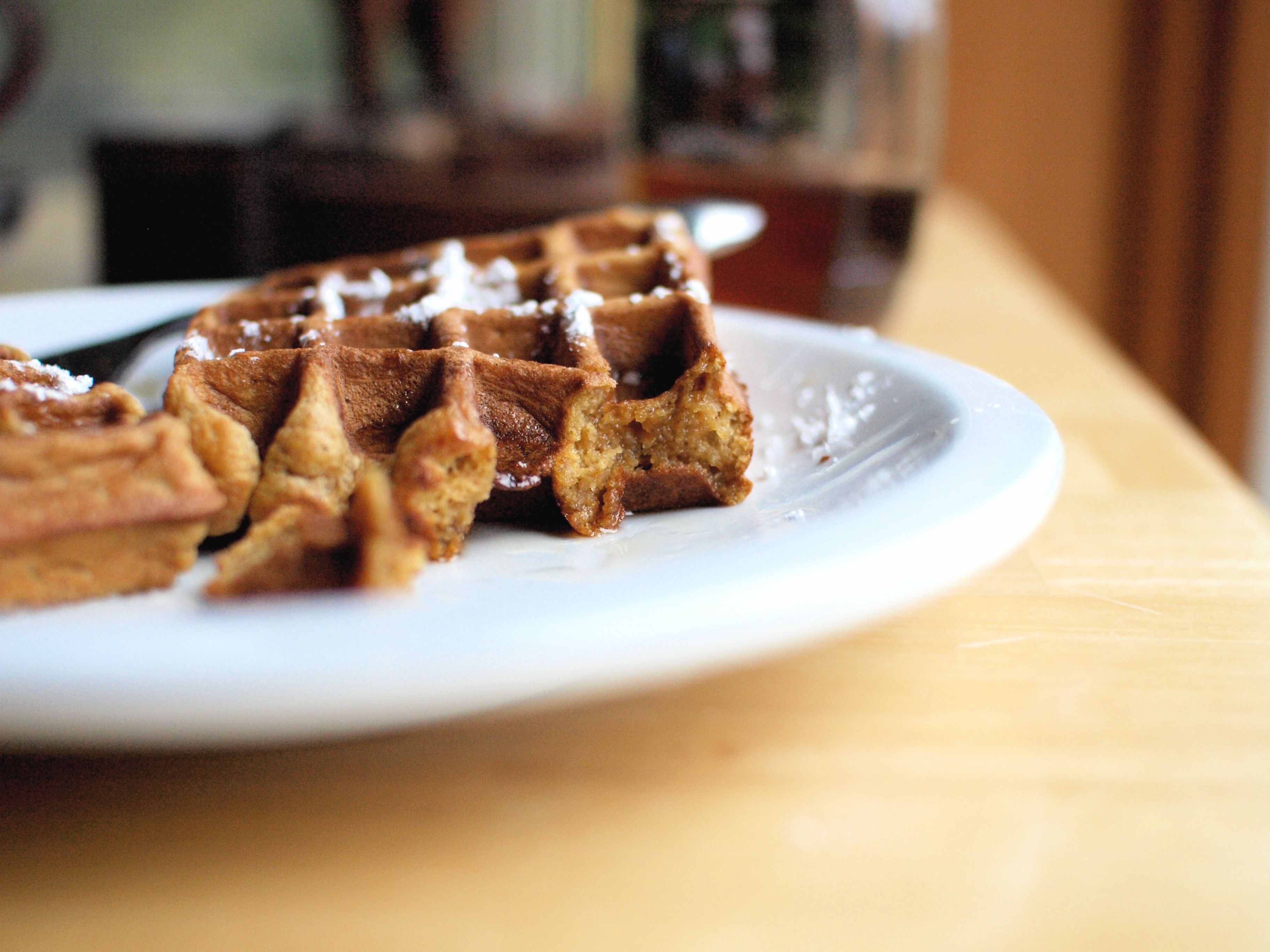Pumpkin Brown Butter Waffles