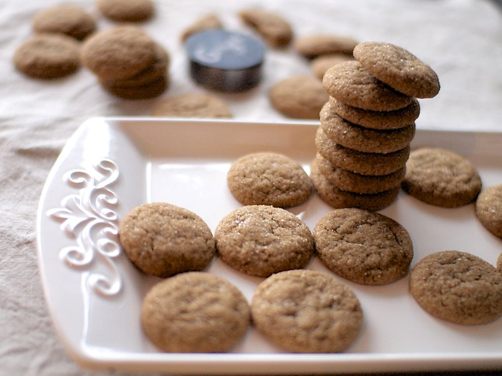 Soft Ginger Cookies | Veggie and the Beast