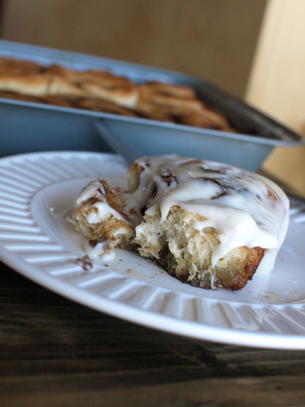 Quick Whole Wheat Cinnamon Roll