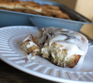 Speedy Whole Wheat Cinnamon Rolls // @veggiebeastblog