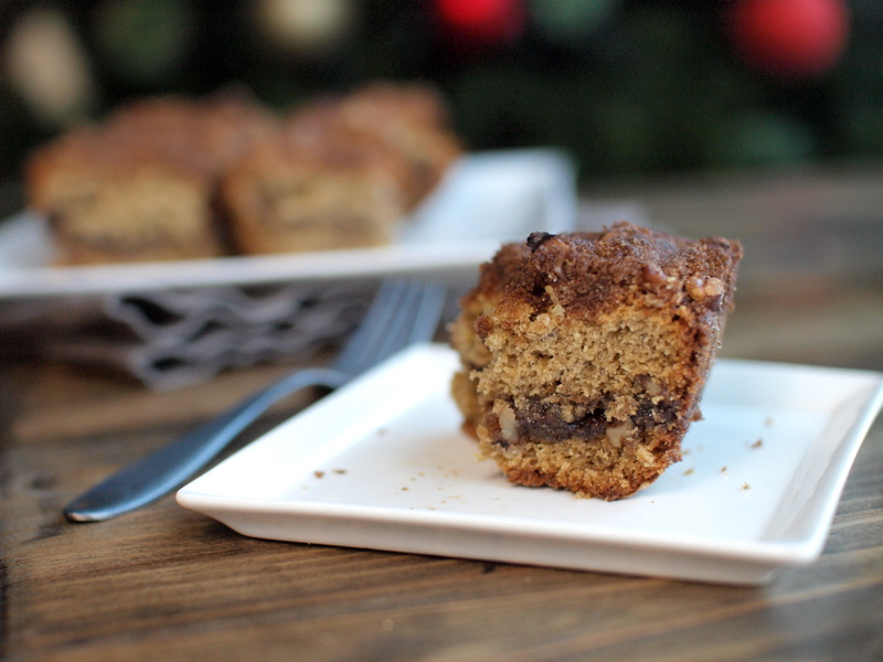 banana peanut butter coffee cake 6