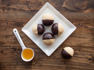 chocolate dipped coconut macaroons gluten free refined sugar free3