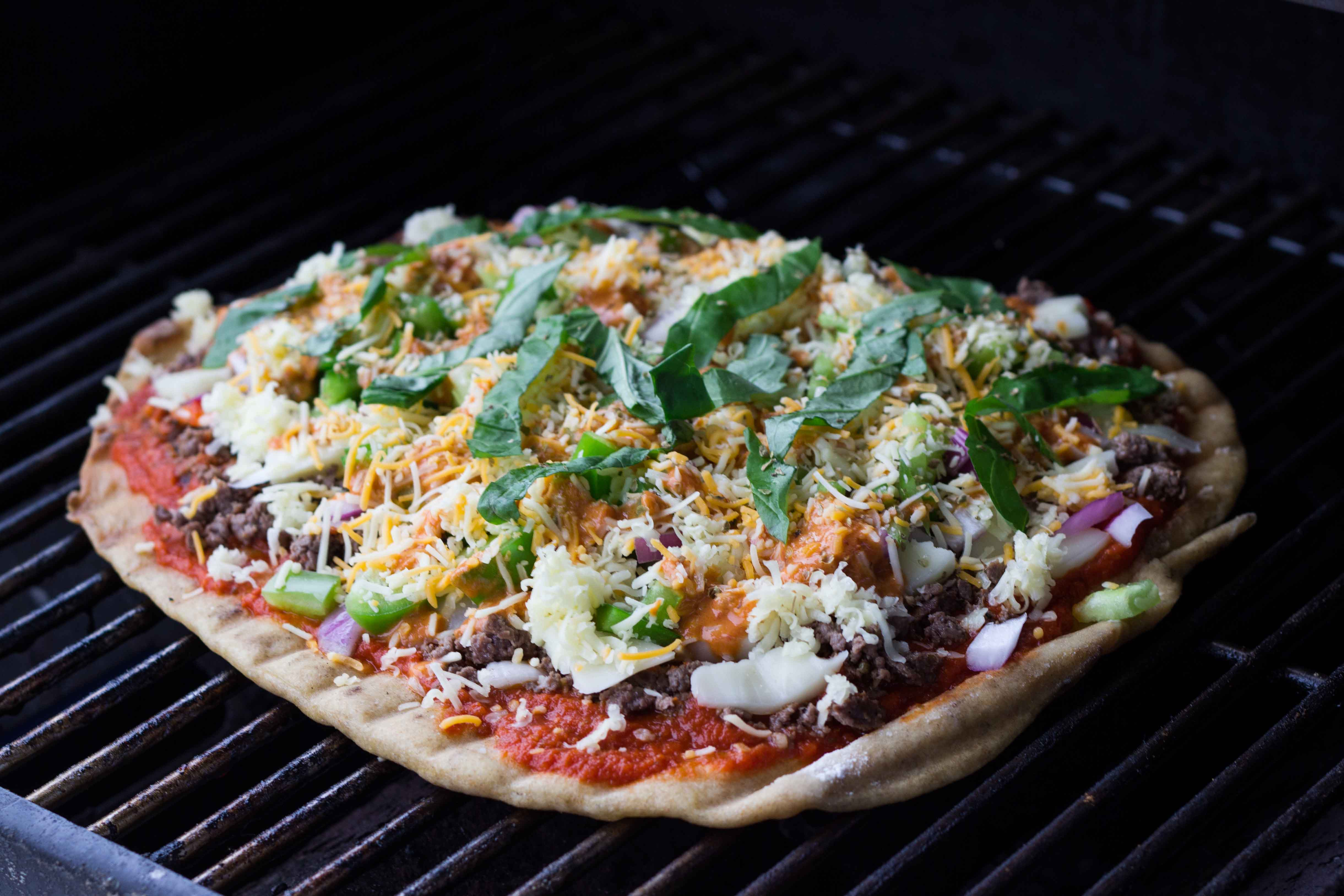 How to Grill Pizza | Veggie and the Beast