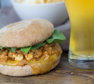 Brown Butter Buffalo Cauliflower Sloppy Joes