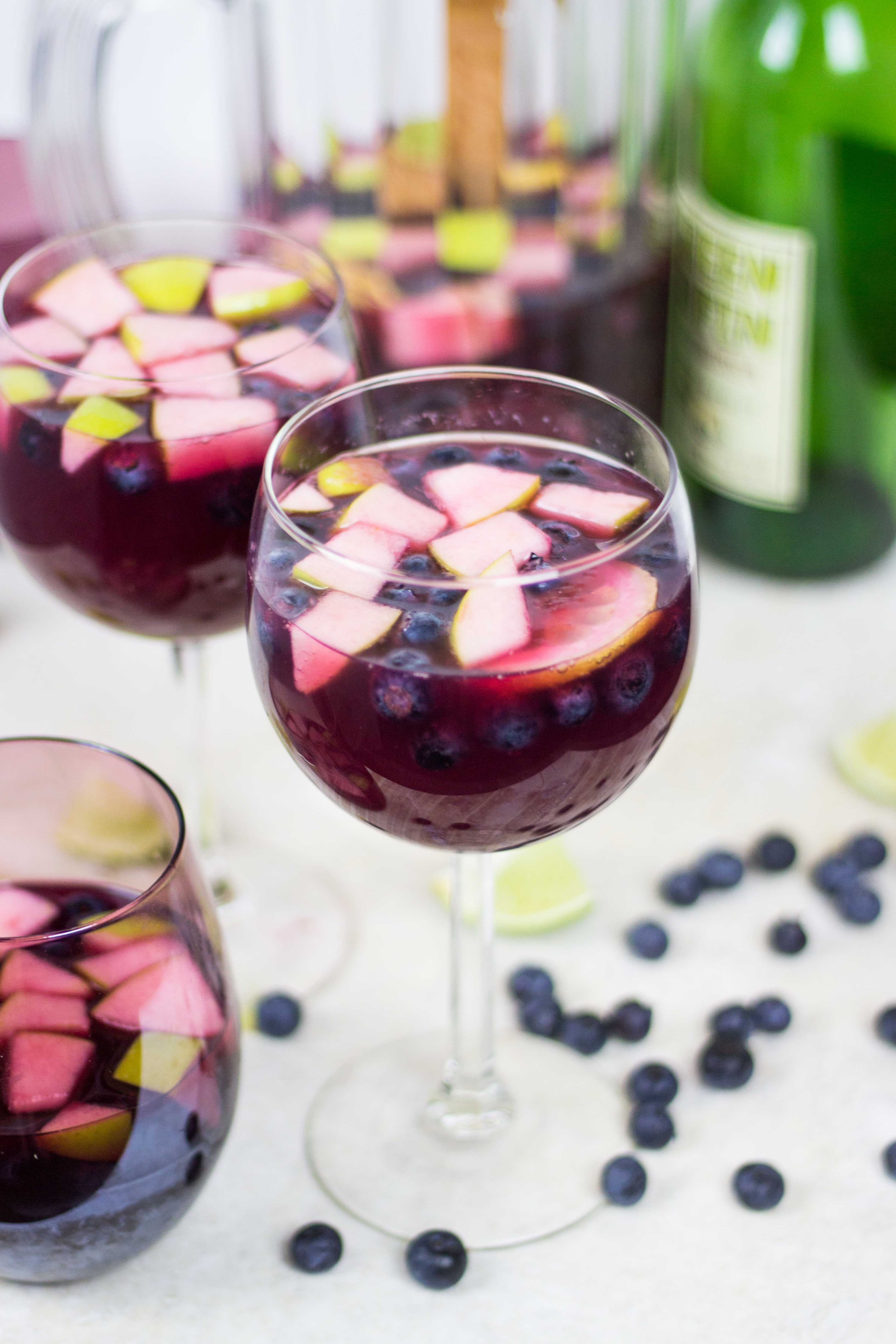 Red Wine Sangria | Veggie and the Beast