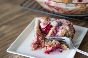 Vegan Raspberry Whole Wheat Cinnamon Rolls | Veggie and the Beast