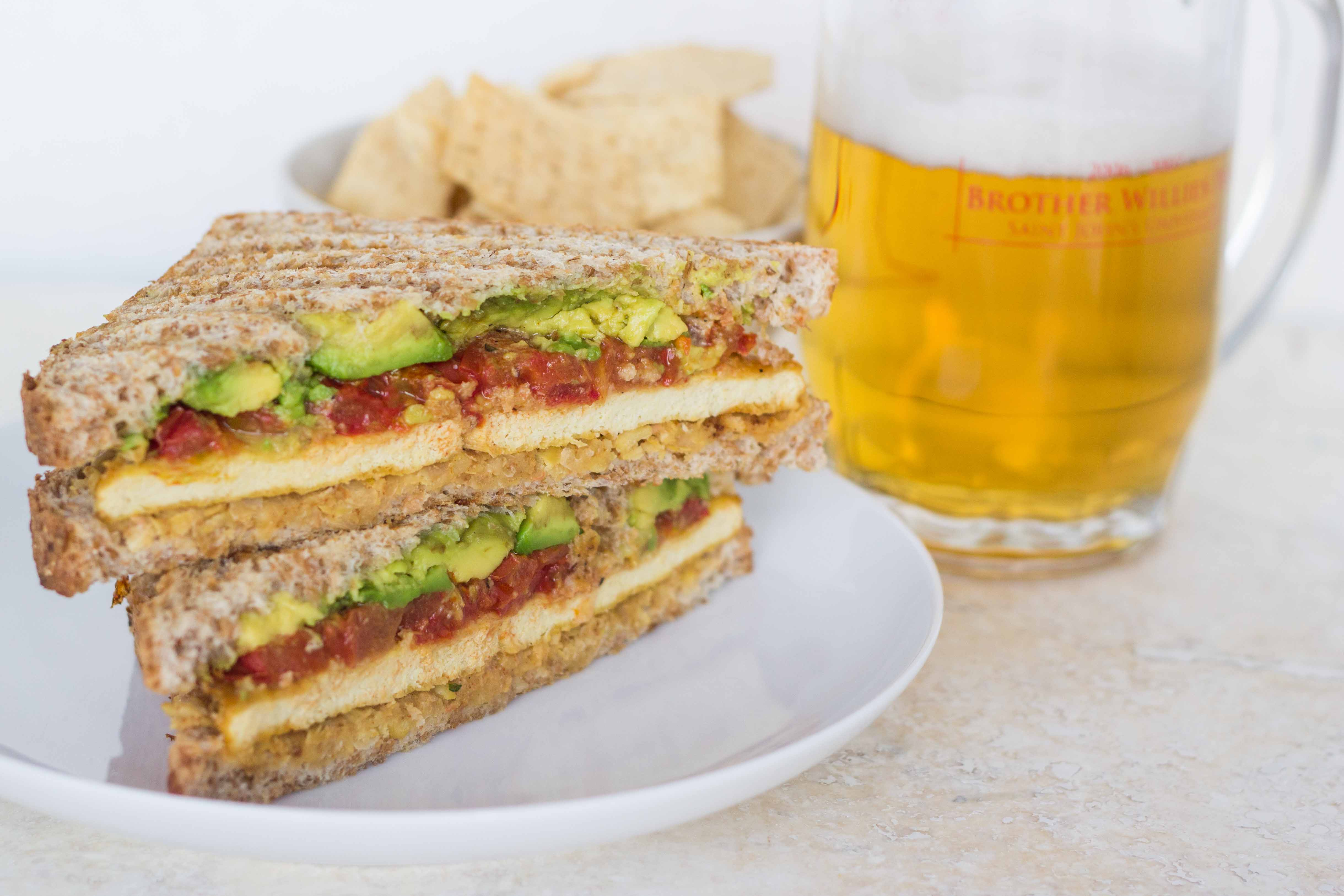 ... Chickpea, Roasted Tomato, and Avocado Sandwich | Veggie and the Beast