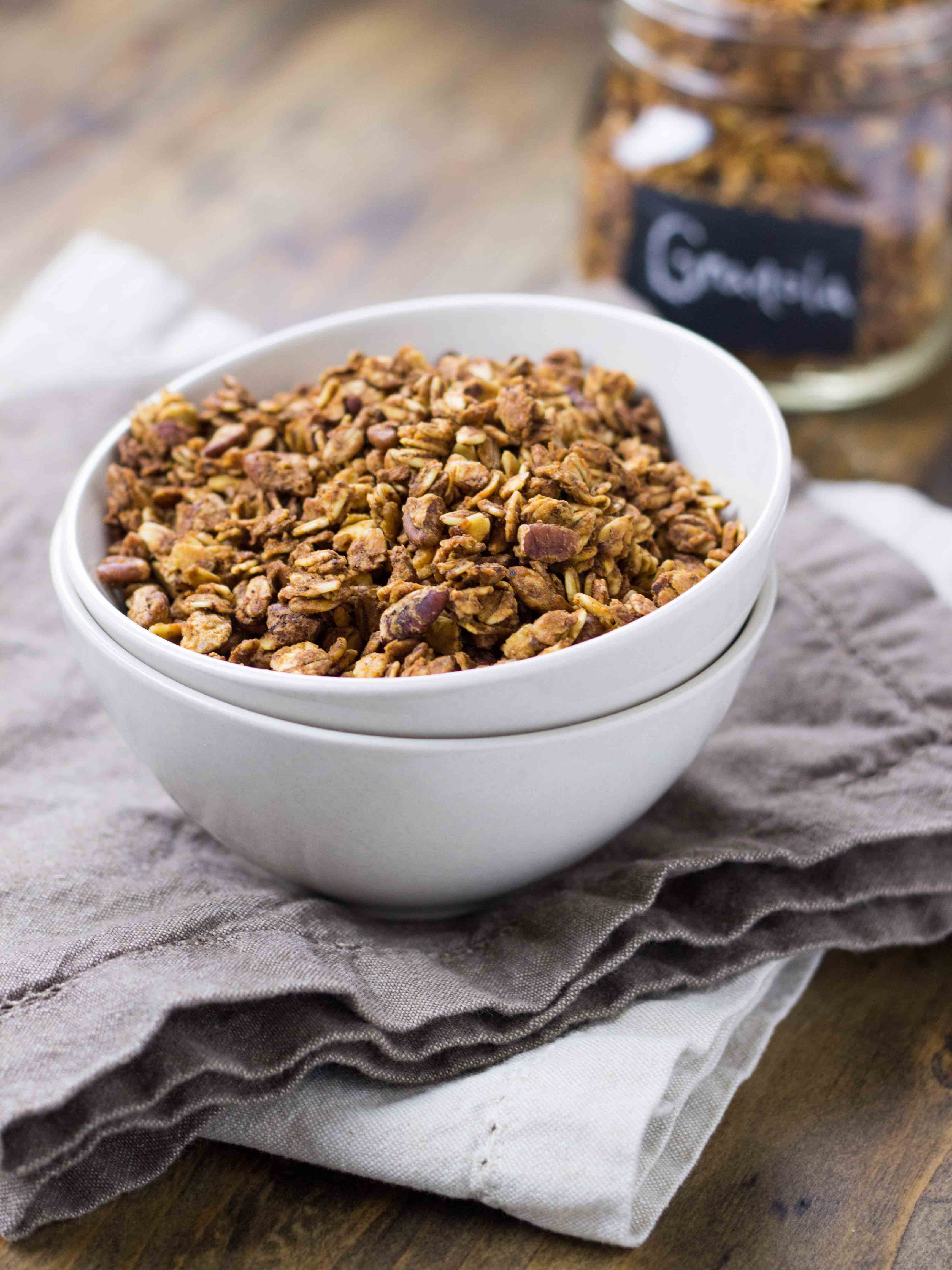 ... Butter and Brown Butter Maple Pecan Granola | Veggie and the Beast