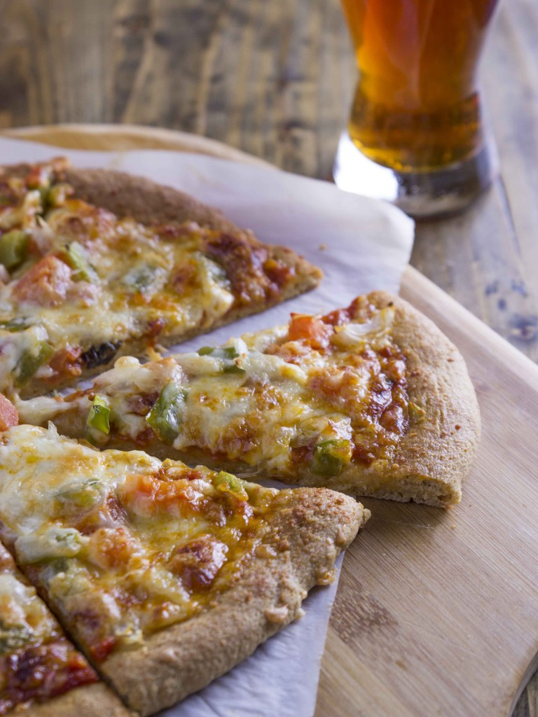 Whole Wheat Beer Pizza Crust | Veggie and the Beast