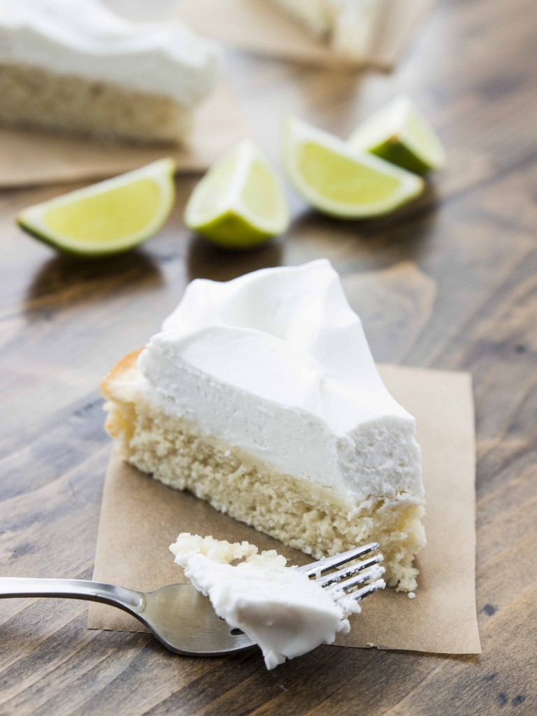 Easy Vegan Lime Cake with Whipped Coconut Cream | Veggie and the Beast