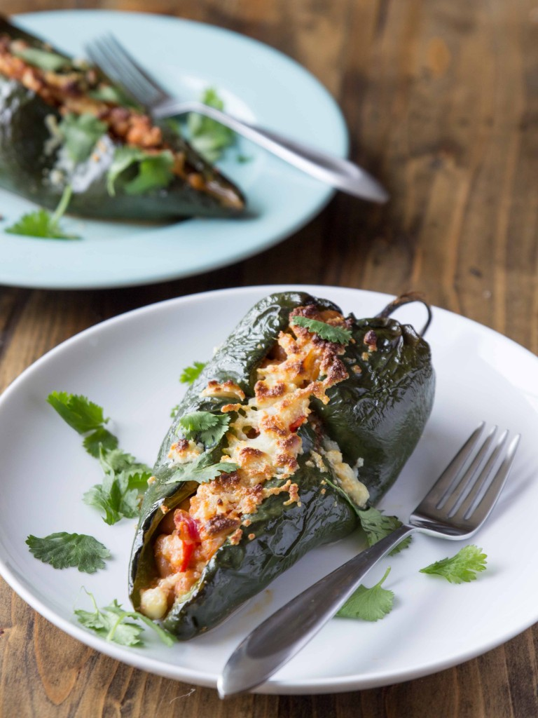 ... bean stuffed southwestern stuffed poblano poblano chilies stuffed with