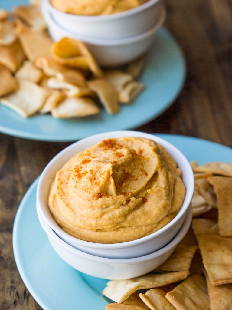 Curried Red Lentil Hummus