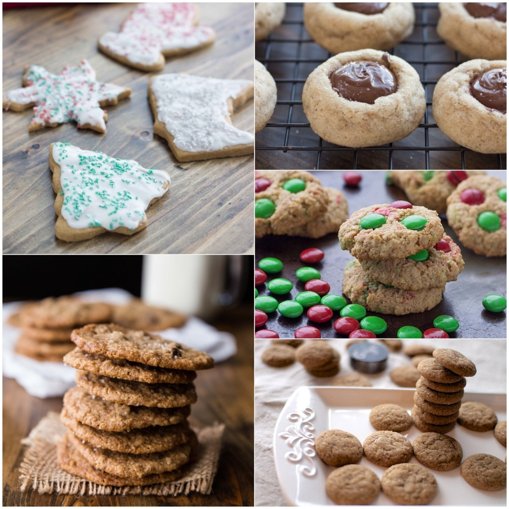 Holiday Cookie Recipes // veggieandthebeastfeast.com